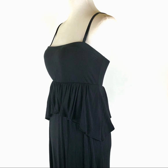 Soma Dresses & Skirts - Soma casual black maxi tank dress